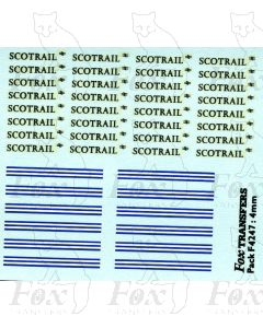 ScotRail Logos & Linking devices (larger size)