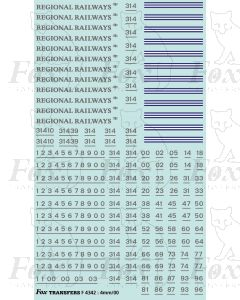 Regional Railways Loco Livery Elements for Class 31 and Class 37 locos