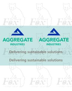 Aggregate Industries Class 59/0 Brandings