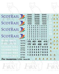 ScotRail Multiple Unit Graphics (Classes 156/158/170)