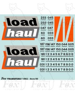 Loadhaul Class 60 Loco Livery Elements