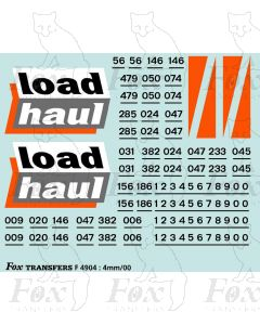 Loadhaul Class 56 Loco Livery Elements