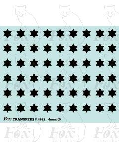 Express Freight Stars (black)