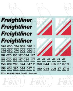 Freightliner Triple Grey Loco Livery Elements