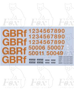 GBRf - GB Railfreight Livery Elements (Class 50)
