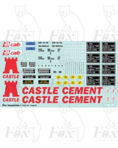 CASTLE CEMENT PCA Tanker Full Livery