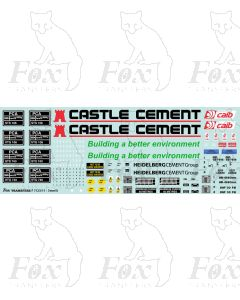 CASTLE CEMENT HEIDELBERGCEMENT GROUP PCA Full Livery