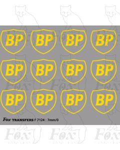 BP Tanker Livery Logos