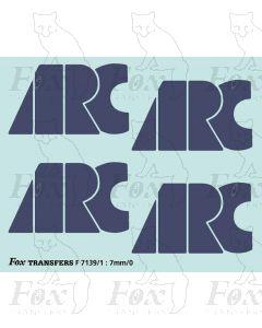 ARC Loco/Hopper Logos (1998)