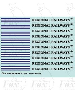 Regional Railways Small Logos and Linking Devices