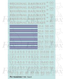 Regional Railways Loco Livery Elements