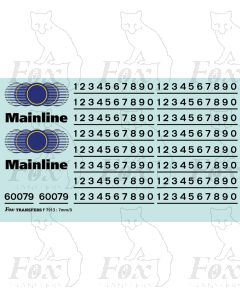Mainline Freight Logos/Detailing Class 37/60079