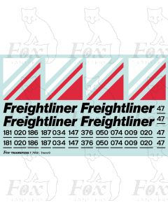 Freightliner Triple Grey Loco Livery Elements