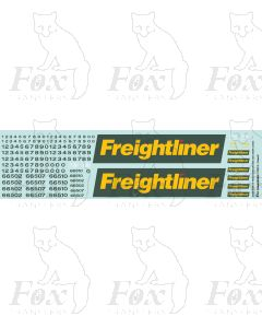 Freightliner Class 66 Loco Livery Elements