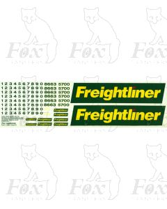 Freightliner Classes 57/86 Loco Livery Elements