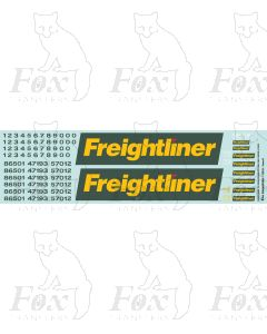 Freightliner Classes 47/57/86 Loco Livery Elements