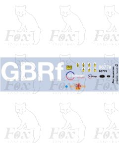 GBRf - GB Railfreight 66779 Evening Star Livery Elements