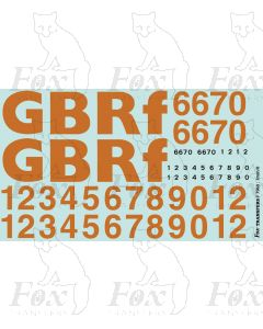GBRf lettering/TOPS numbering