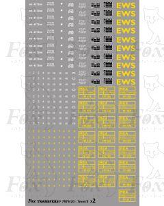 EWS Freight - MEA BOX WAGON