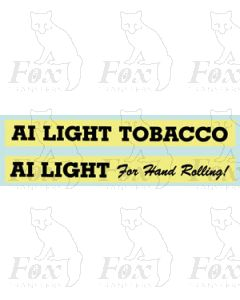A1 LIGHT TOBACCO/A1 LIGHT For Hand Rolling!