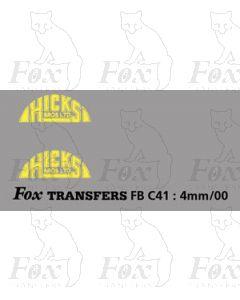 FLEETNAMES - HICKS (HALF MOON)