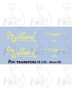 FLEETNAMES - Midland script lettering