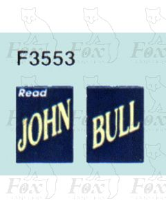 Advertisement 1930s, 1940s & 1950t - Read JOHN BULL