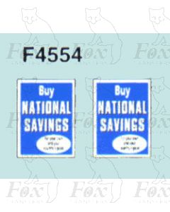 Advertisement 1940s & 1950s - Buy NATIONAL SAVINGS