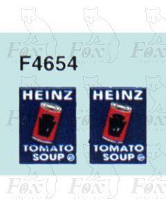 Advertisement 1940s, 1950s & 1960s - HEINZ TOMATO SOUPS
