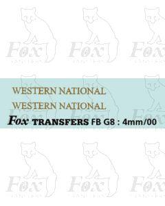 FLEETNAMES - WESTERN NATIONAL