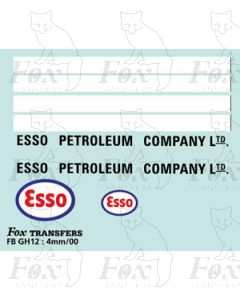 TRANSPORT COMPANIES - ESSO