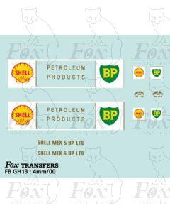 TRANSPORT COMPANIES - SHELL/BP