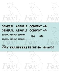 TRANSPORT COMPANIES - GENERAL ASPHALT
