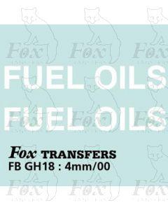 TRANSPORT COMPANIES - FUEL OILS