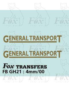 TRANSPORT COMPANIES - GENERAL TRANSPORT