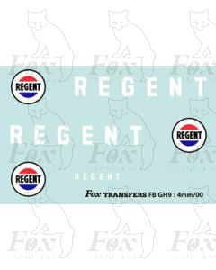 TRANSPORT COMPANIES - REGENT white with roundels