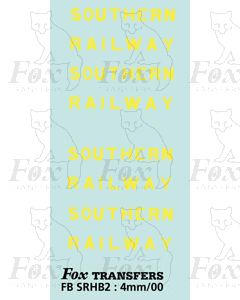HORSE BOX LETTERING SETS - SOUTHERN - off white
