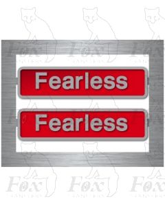 50050 Fearless (with crests)