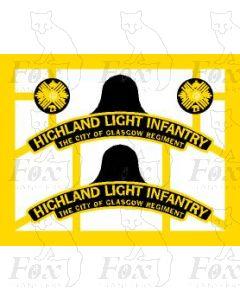 4-6-0  HIGHLAND LIGHT INFANTRY, CITY OF GLASGOW REGIMENT