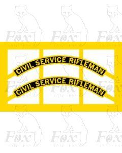 46163  CIVIL SERVICE RIFLEMAN