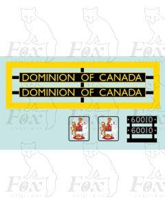 60010  DOMINION OF CANADA
