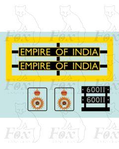 60011  EMPIRE OF INDIA