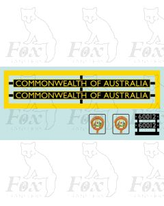 60012  COMMONWEALTH OF AUSTRALIA