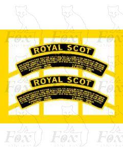 6100CP ROYAL SCOT (with commemorative plaque) unrebuilt version