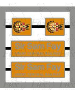 66707 Sir Sam Fay GREAT CENTRAL RAILWAY