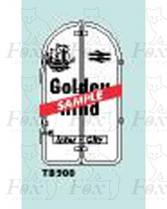 Tailboard - THE GOLDEN HIND white and black
