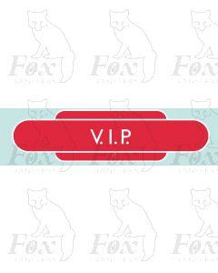 Window signage - VIP