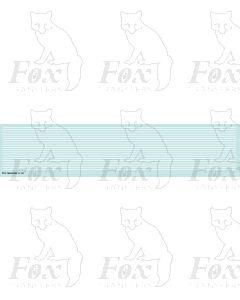 Lining in white - Medium lines, 298mm x 0.75mm