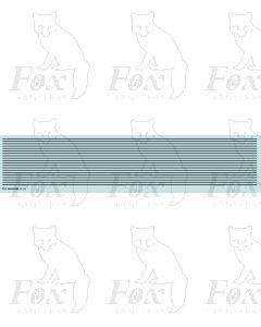 Lining in black - Medium lines, 298mm x 0.75mm