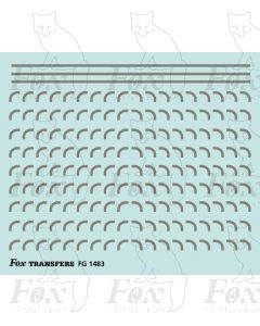 Corners in silver - Medium-Radius 0.75mm